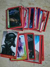 Topps Star Wars The Last Jedi -  Story & Regular Cards (1 to 160)