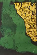 60er Psychedelic Poster Plakat Family Dog Acid LSD Very Rare Bob Masse 1967