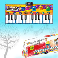 KIDS GIGANTIC ELECTRONIC KEYBOARD PLAYMAT MUSIC DANCE PARTY FUN PIANO PLAYMAT