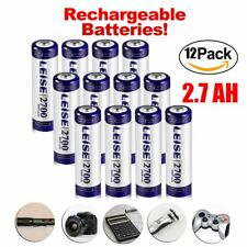 12Pcs AA 2700mAh 1.2V NI-MH batteries Rechargeable for MP3 Toys Camera USA