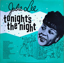 JULIA LEE - TONIGHT'S THE NIGHT - CHARLY R&B - U.K. PRESSING - 1982 LP