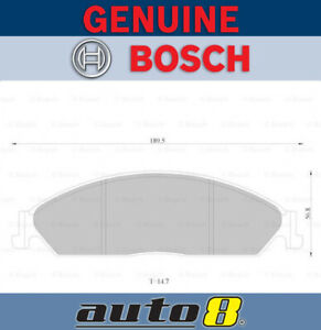Bosch Front Brake Pads for Ford Falcon FG FGX XR6 Turbo 4.0L Barra 240T 2008-16