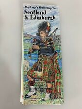 MapEasy's Guidemap to Scotland & Edinburgh by Map Travel House