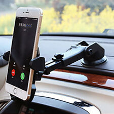 360°Car Holder Windshield Mount Bracket For Cell Phone iPhone Samsung GPS BF/L