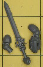 Warhammer 40K Space Marines GRIS CHEVALIERS Marine Nemesis Force Sword (B)