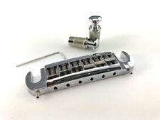 FrankenTone Adjustable Wraparound Bridge Tailpiece Combo Chrome Badass