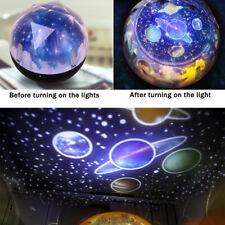 Star Projector Colour Household Starry Sky Night Light LED Rotating Desk Star