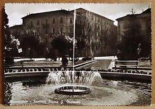 Alessandria - fontana Piazza G.Matteotti [grande, b/n, viaggiata]