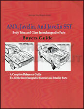 AMX and Javelin Body Parts Interchange Book 1968 1969 1970 1971 1972 1973 1974