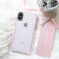 For iPhone X XS Max XR 7 8 Plus Shockproof Case Cute Girly TPU Gel Luxury Cover