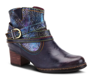 NIB - AUTHENTIC Spring Step L'Artiste Shazzam Bootie-Navy Multi- FREE SHIPPING!