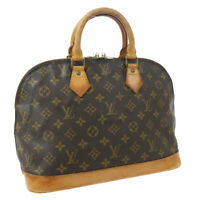 LOUIS VUITTON ALMA HAND BAG PURSE MONOGRAM CANVAS VI1903 M51130 VINTAGE 33428