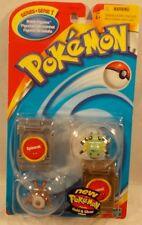 "Pokemon 2000 2"" Battle Figures Spinarak & Sentret By Hasbro (MOC) RARE!"
