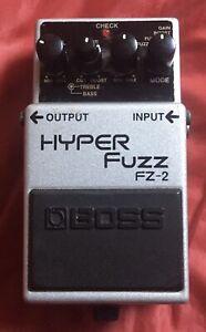 Boss FZ-2 Hyper Fuzz Pedal
