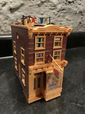 HO Scale Building Walthers Row House Built Weathered 2nd Hand Shop Vintage