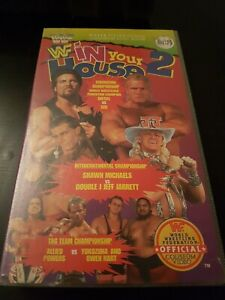 WWF IN YOUR HOUSE 2 - SILVER VISION -  VHS -  - WCW/ECW/WWE