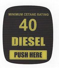 Dresser Wayne Ovation Diesel 40 Cetane Octane Decals