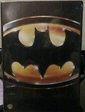 cofanetto+DVD come nuovo film BATMAN (NICHOLSON-KEATON) (1989) SNAPPER