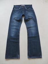 Levi's® 512 Bootcut Jeans Hose, W 31 /L 34, Dark Washed Denim mit Knopfleiste !