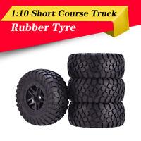 4X AUSTARHOBBY AX-4006 RC Wheel Tires Rubber Tyre For 1:10 Traxxas Slash HPI Car