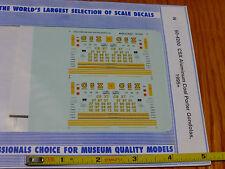 Microscale Decal N #60-4200 Csx Gondola - Coalporter - Aluminum