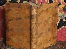 Elégies de Tibulle 1784 Poésie antiquité latin français bilingue