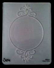 Sizzix Large Embossing Folder FRAME CIRCLE ORNATE fits Cuttlebug 4.5x5.75in