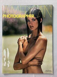 American Photographer Magazine April 1980. Janice Dickinson
