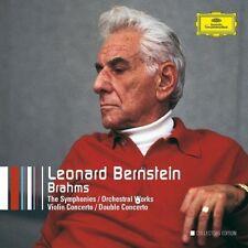 Leonard Bernstein, J. Brahms - Symphonies [New CD] Boxed Set, Collector's Ed