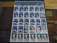 TORONTO BLUE JAYS ROWDY TELLEZ RC LOT X45 CARDS TOPPS SERIES 2 & BOWMAN LOOK!