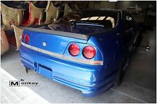 NISSAN R33 GTS/GTR REAR BOOT SPOILER/DRIFT WING/BOBTAIL/ SUIT R33 2 DOOR COUPE