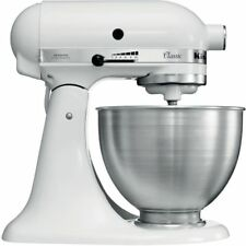 NEW! KitchenAid K45SSWH Classic 275-Watt 4.5-Quart Stand Mixer  WHITE New Sealed