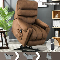 Overstuffed Electric Power Lift Recliner Chair Upgrade Motor Sofa for Elderly
