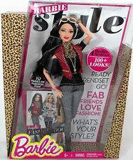 BARBIE STYLE COLLECTION NEW IN BOX BARBIE DOLL FASHION BOOK GENUINE CLOTHES