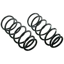 For Jeep Wrangler 4WD 2007-2010 Rear Constant Rate Coil Spring Set Moog # 81097