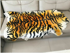 Genuine Tiger Real Sheepskin Rug Area Rugs Carpets Sofa Chair Seat Pads Wool Rug