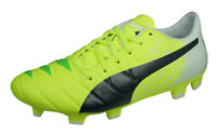 Puma evoACCURACY 2 FG MB45 Mens Soccer Cleats Grass 3G 4G Football Shoes Yellow