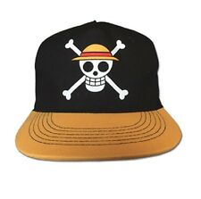 One Piece Luffy Pirate Flag Anime Snapback Hat