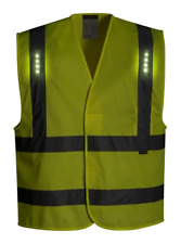 PORTWEST VEGA LED  VEST SIZES S/M-2X/3X L470 CLASS 2 25LM 80HRS RUN TIME