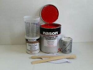Dupont/Nason Torch Red 2K ful thane urethane single stage auto restoration paint