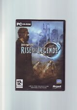 RISE OF NATIONS : RISE OF LEGENDS - RTS PC GAME- ORIGINAL & COMPLETE WITH MANUAL