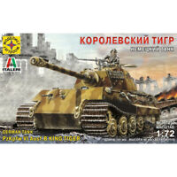 PzKpfw VI Ausf. B King Tiger German WWII Heavy Tank Model Kits scale 1:72
