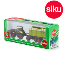 SIKU No 1846 1:87 CLAAS AXION 850 TRACTOR with Quantum 5700 Trailer DieCast Toy