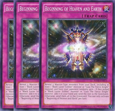 Beginning of Heaven and Earth X3 -Common- RATE-EN073-NM- First Edition