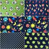 Fabric Freedom 100% Cotton SPACE Children's Craft & Dress Fabric Material