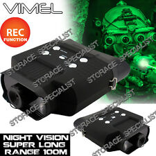 Night Vision Binoculars Monocular Hunting Goggles Digital NV Camera Security DVR