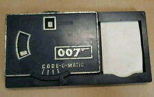 1965 James Bond 007 Code-o-Matic Spy Decoder From Attache Case Multiple Products