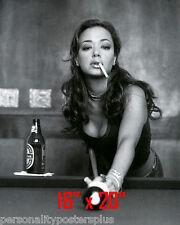 "Leah Remini ~Shooting Pool~Playing Pool~Billiards~16"" x 20""~Poster~ Photo"