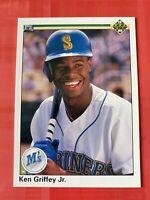 NRMT - MINT 1990 Upper Deck #156 Ken Griffey Jr. Baseball Card MT SHARP!!