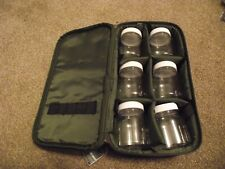 fishing glug pots in a storage bag L@@k Angling-zone
